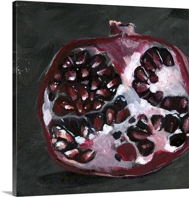 Pomegranate Study on Black I