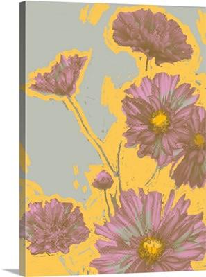 Pop Art Floral III