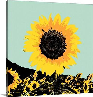 Pop Art Sunflower I