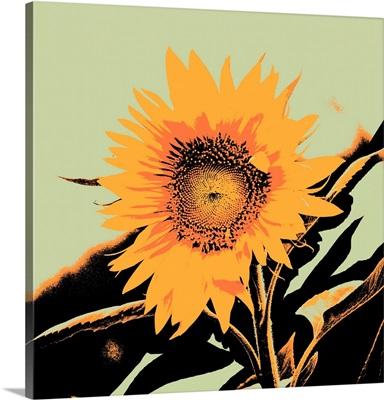 Pop Art Sunflower II