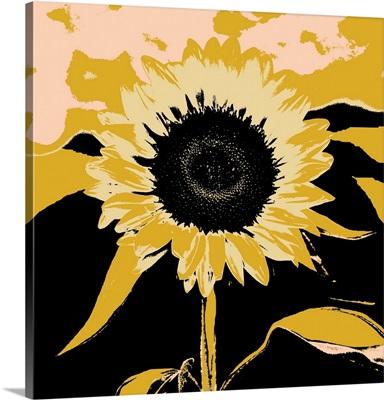 Pop Art Sunflower IV