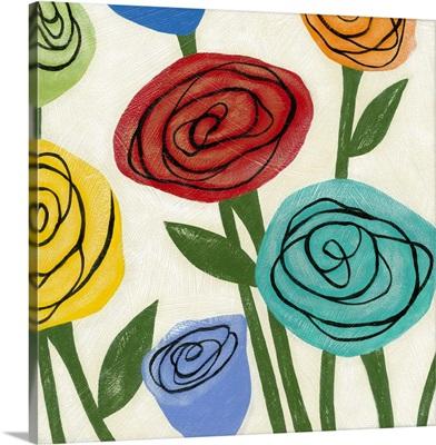 Pop Roses I
