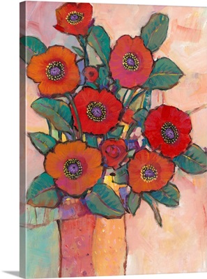 Poppies in a Vase I