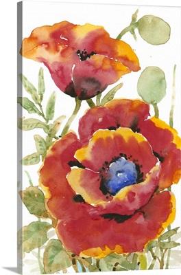 Poppy Floral I