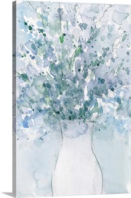 Powder Blue Arrangement In Vase I