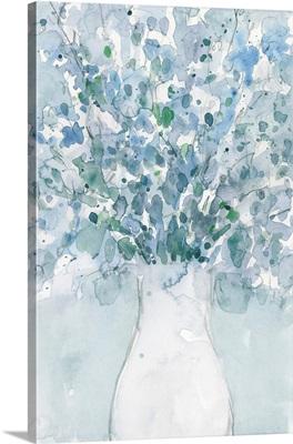 Powder Blue Arrangement In Vase II