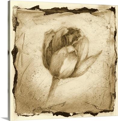 Printed Floral Impression I