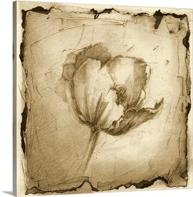 Printed Floral Impression IV