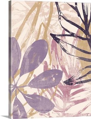 Purple Palms I