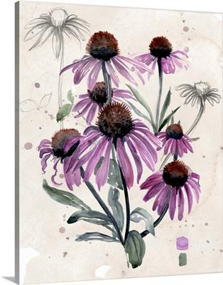 Purple Wildflowers I