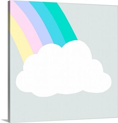 Rainbow Cloud I