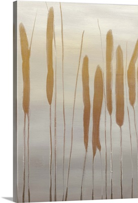 Reeds and Leaves I