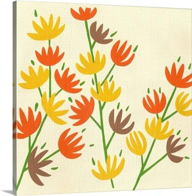 Retro Blossoms III