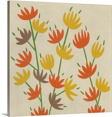 Retro Blossoms IV