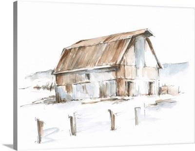 Roadside Barn I