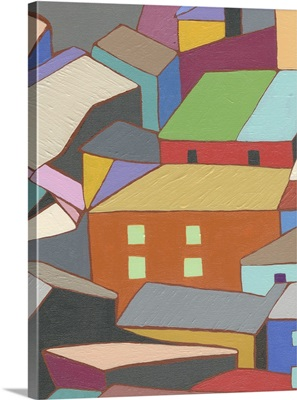 Rooftops in Color III