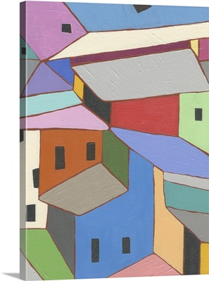 Rooftops in Color XII