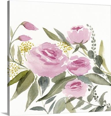 Rosebud Watercolor II
