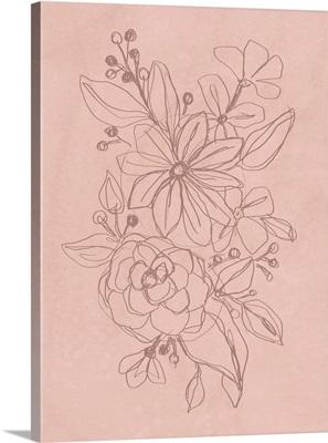 Rosetone Blossoms I