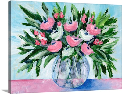 Rosy Bouquet I