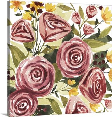 Rouge Bouquet II