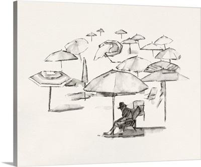 Rough Seaside Sketch II