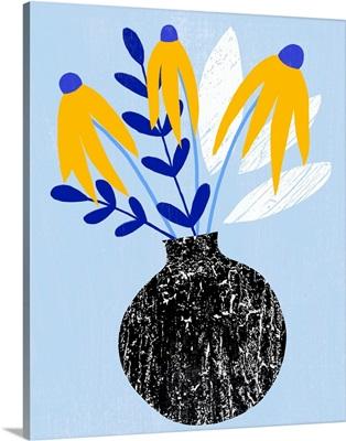Ruffled Vase I