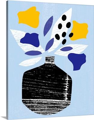 Ruffled Vase III