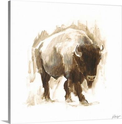 Rustic Bison I