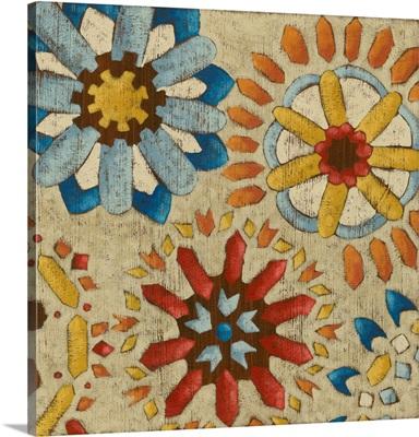 Rustic Mosaic I
