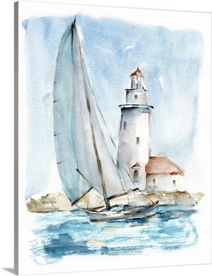 Sailing Into The Harbor I