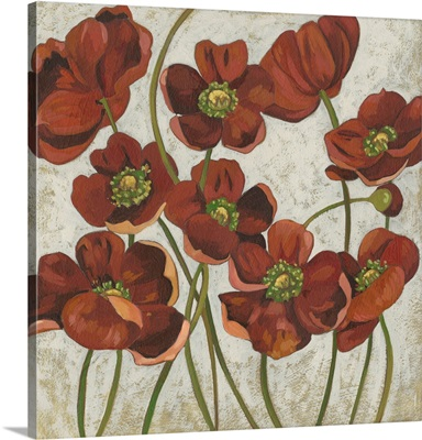 Sangria Poppies II