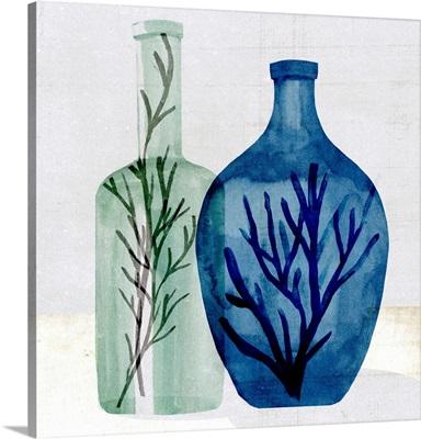 Sea Glass Vase I