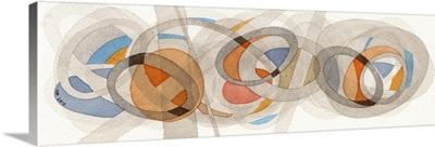Sepia and Orange Circles