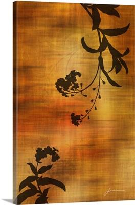 Sepia Floral I
