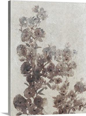 Sepia Flower Study I