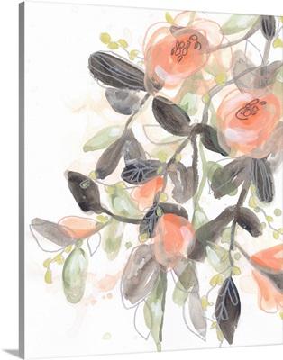 Sheer Blossoms I
