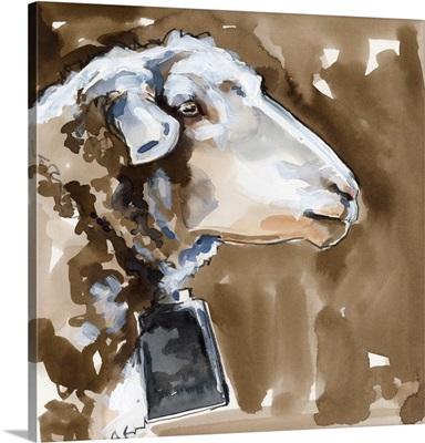 Side Eye Sheep I