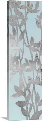 Silver Eucalyptus On Blue I
