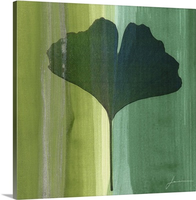 Silver Leaf Tile I