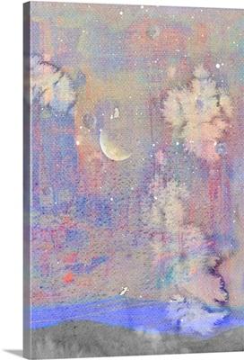 Silvery Moon I