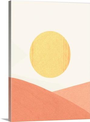 Simple Boho Sun I
