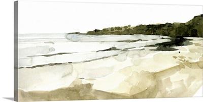 Simple Watercolor Coast I