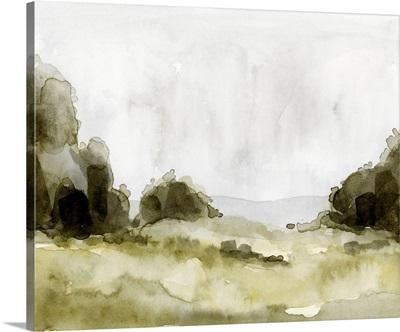 Simple Watercolor Scape II