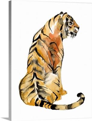 Sitting Tiger I