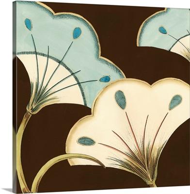Small Lotus Arabesque in Blue II
