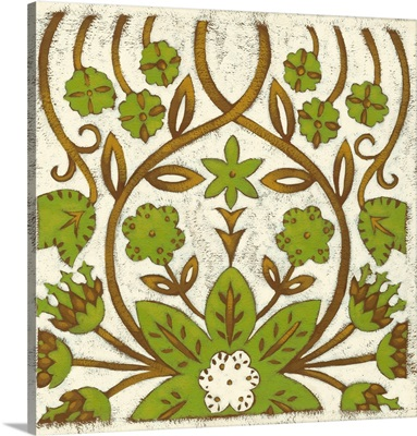 Small Lotus Tapestry I