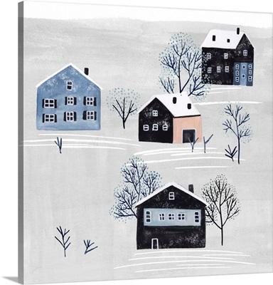 Snowy Village I