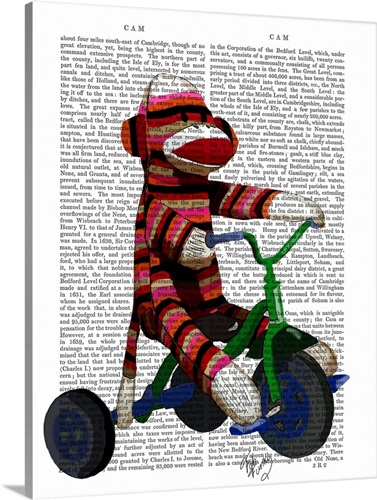 Sock Monkey on Tricycle Wall Art, Canvas Prints, Framed Prints, Wall ...