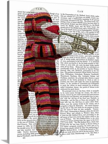 Sock Monkey Playing Trumpet Wall Art, Canvas Prints, Framed Prints ...